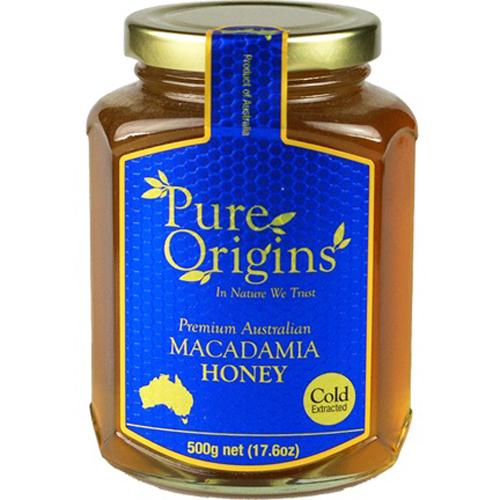 Pure Origins Macadamia Honey 500g
