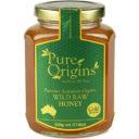 Pure Origins Organic Wild Raw Honey 500g
