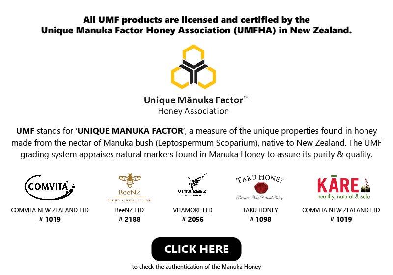 Honeycity - Manuka Honey UMF Registered Code