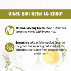 Daehan Tea Organic Green Tea w Brown Rice 2