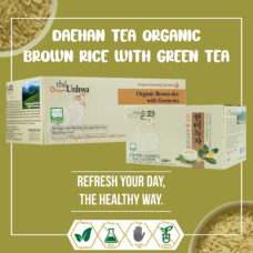 Daehan Tea Organic Green Tea w Brown Rice 0