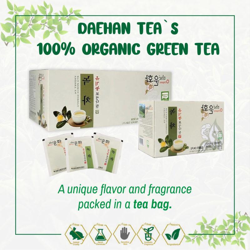 Daehan Tea Organic Green Tea 0