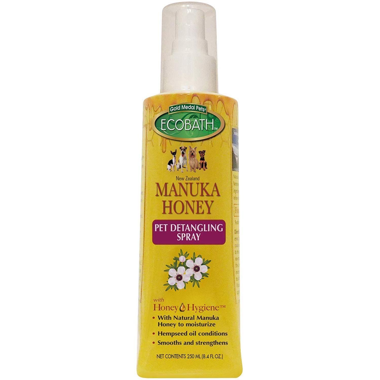 Gold Medal EcoBath Manuka Honey Pet detangling Spray 1