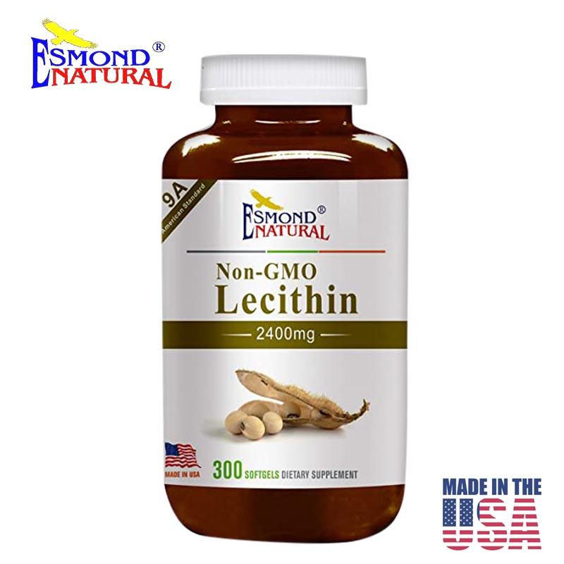 Esmond Natural Lecithin Non-GMO - Made in USA