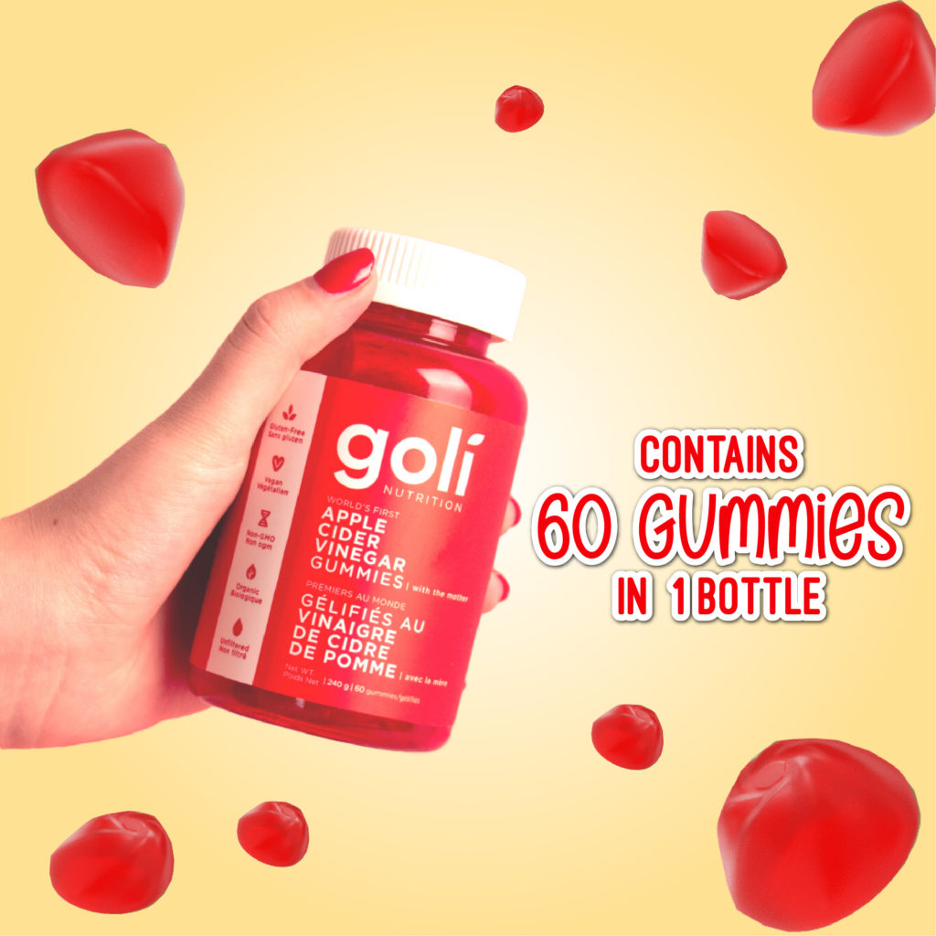 Goli Apple Cider Vinegar Gummy AVC 7