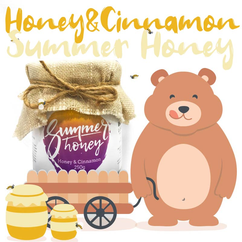 Bear-Summer Honey Artisan Series 夏季蜂蜜之工匠系列 肉桂蜂蜜Honey&Cinammon Edited-03