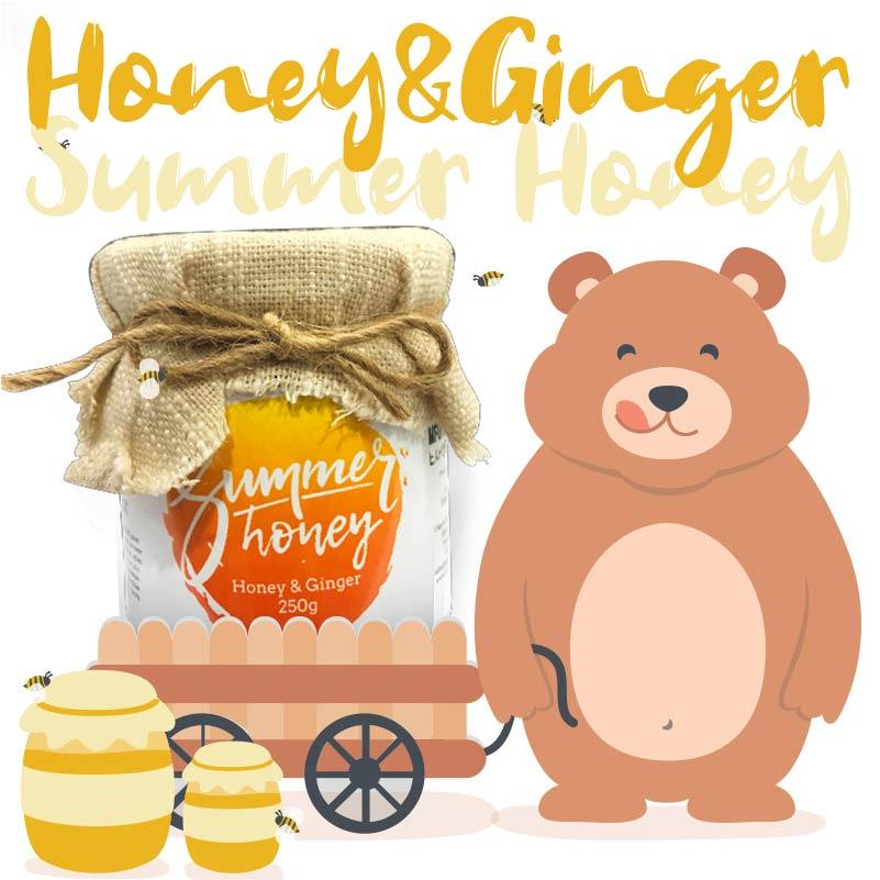 Bear-Summer Honey - 夏季蜂蜜之工匠系列蜂蜜生薑Honey&Ginger