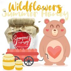 Bear-Summer Honey Pure Series Wildflower 單花蜜系列之野花蜜 250g