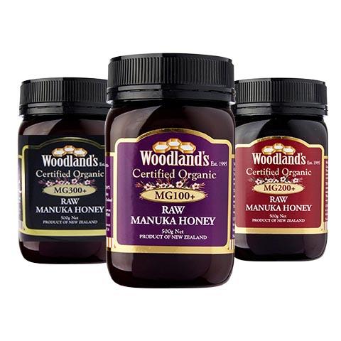 Woodland's 兀蘭有機麥盧卡蜂蜜