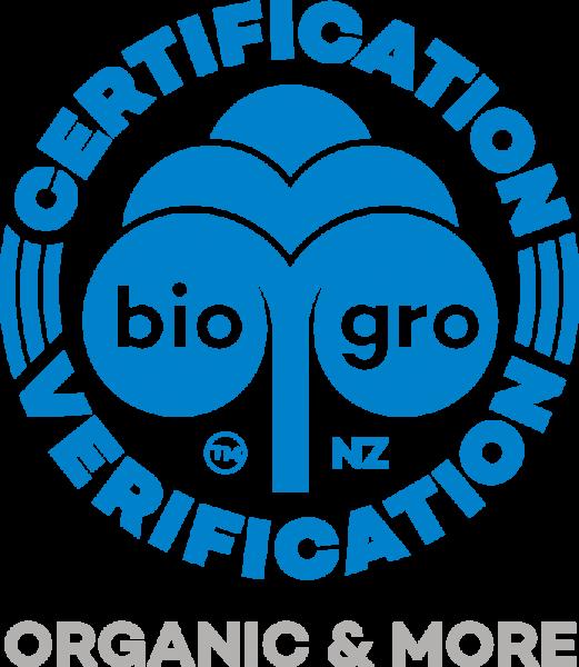 biogro Certification 认证